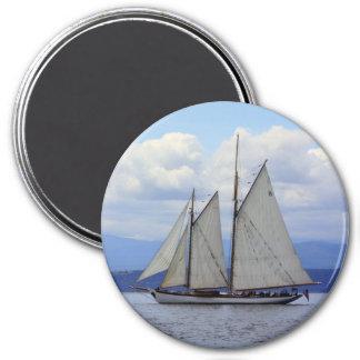 Schooner Zodiac 7.5 Cm Round Magnet