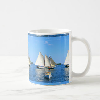 schooners and lobster boat mug