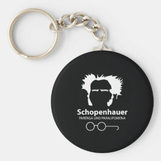 Schopenhauer Parerga Confidence ED. Basic Round Button Key Ring