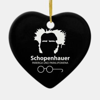Schopenhauer Parerga Confidence ED. Ceramic Ornament