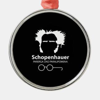 Schopenhauer Parerga Confidence ED. Metal Ornament