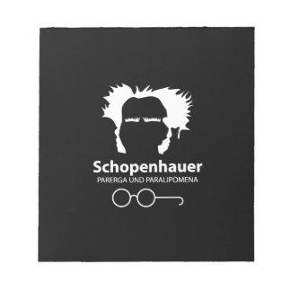 Schopenhauer Parerga Confidence ED. Notepad