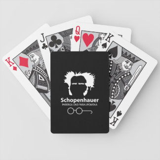 Schopenhauer Parerga Confidence ED. Poker Deck