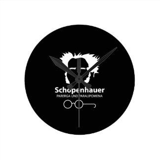 Schopenhauer Parerga Confidence ED. Round Clock