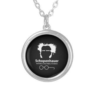 Schopenhauer Parerga Confidence ED. Silver Plated Necklace