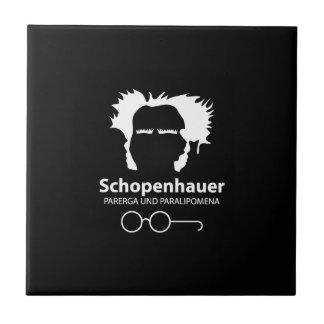 Schopenhauer Parerga Confidence ED. Small Square Tile