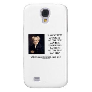Schopenhauer Talent Hits Target Genius No One Else Galaxy S4 Cover