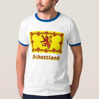 Schottland Löwenflagge mit Namen Shirts
