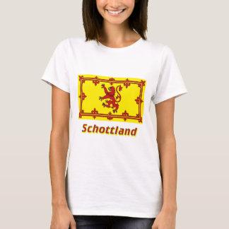 Schottland Löwenflagge mit Namen T-Shirt