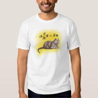 Schrodinger cat t shirt