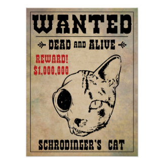 Schrodinger s Cat Wanted II Poster