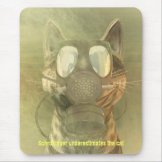 Schrödinger underestimates the cat mousepad