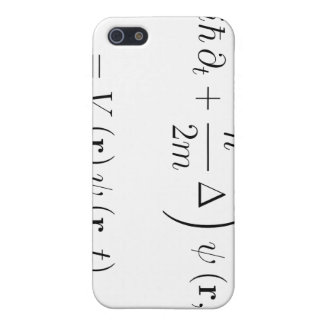 Schrodinger wave equation iPhone 5/5S cover