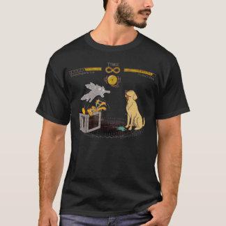 Schrodinger's Cat and Pavlov's Dog T-Shirt