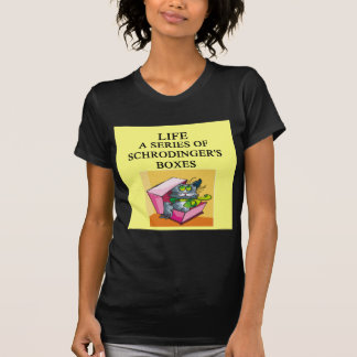 schrodinger's cat box joke T-Shirt