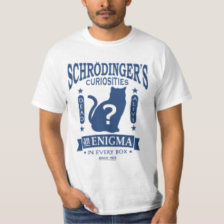 Schrodinger's Cat Dead or Alive Quantum Mechanics T-Shirt