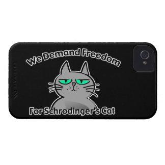 Schrodinger's Cat Funny Geek Humor iPhone 4 Cases