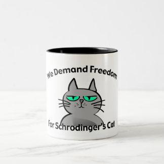 Schrodinger's Cat Funny Geek Humor Mugs