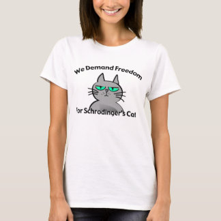 Schrodinger's Cat Funny Geek Humour T-Shirt