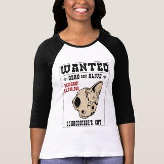 Schrodinger's Cat Wanted II T-Shirt