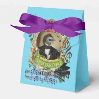 Schubird Great Animal Composer Schubert Bird Favour Boxes