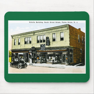 Schultz Building, Penns Grove, New Jersey Mouse Pad