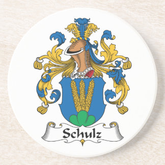 Schulz Family Crest Coaster