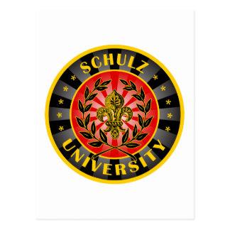Schulz University German Post Cards