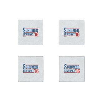 Schumer Lewinsky 2016 Stone Magnet