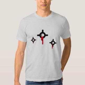 Schusslöcher_Blut T Shirts