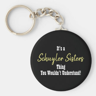 Schuyler Sisters Keychain