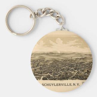 schuylerville1889 key ring