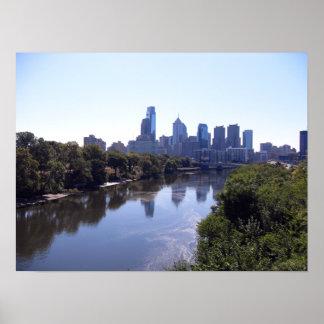 Schuylkill River Philadelphia Poster