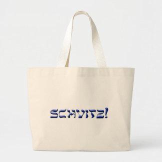 Schvitz! Large Tote Jumbo Tote Bag