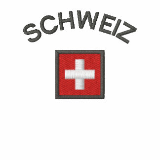 Schweiz Ladies Polo With Switzerland Pocket Flag