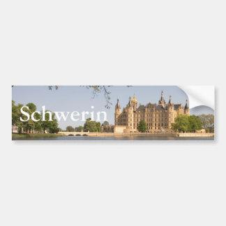 Schwerin Castle Bumper Sticker