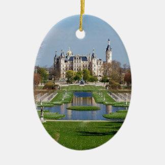 Schwerin castle ceramic ornament
