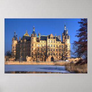 Schwerin Castle-Germany Print