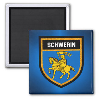 Schwerin Flag Magnet