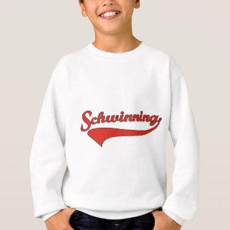 Schwinning In Red Sweatshirt