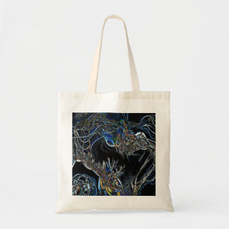 Sci-Fi Abstract Canvas Bags