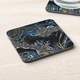 Sci-Fi Abstract Beverage Coasters