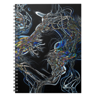 Sci-Fi Abstract Note Book
