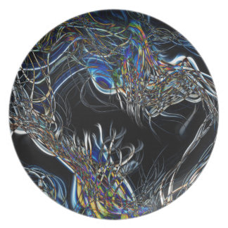 Sci-Fi Abstract Plate