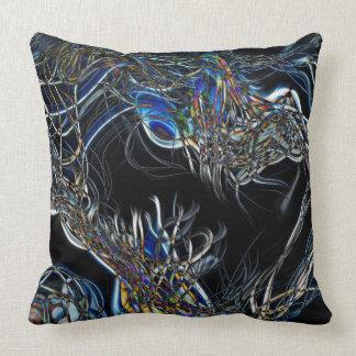 Sci-Fi Abstract Throw Pillows
