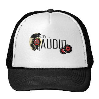 sci-fi and audio theme apparel cap