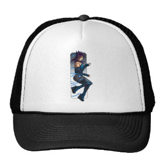 Sci-Fi Anime Girl Trucker Hat