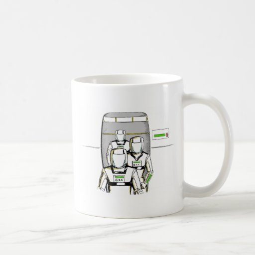 Sci-Fi Astronauts Coffee Mugs