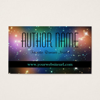 Sci Fi Author Business Card