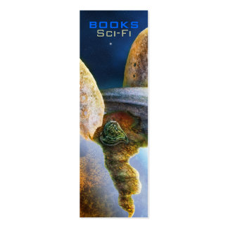 Sci-Fi Bookmark - Wenderer III Business Card Template